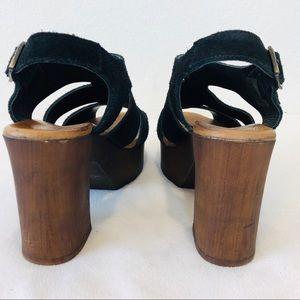 Eric Michael Shoes - ➖Eric Michael➖ block heel suede sandals
